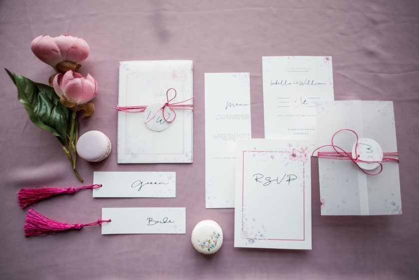 Stationery by Love Tallulah Belle, Image by Jane Beadnell Photography