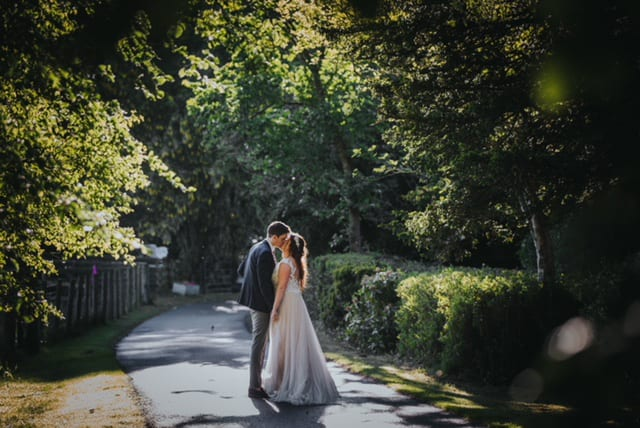 Woodhill Hall Real Wedding Erin Andrew