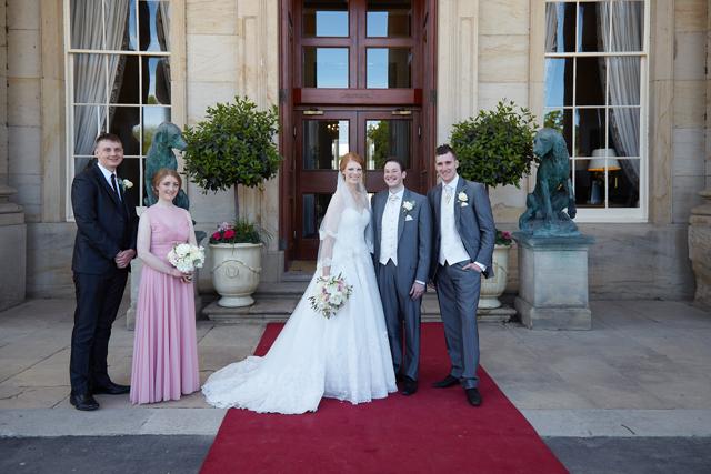 Wynyard Hall Real Wedding Alyson And Callum