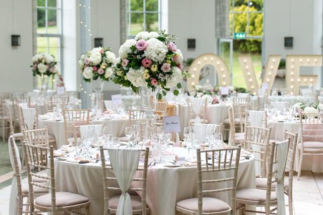 Wynyard Hall Real Wedding Emma Andy