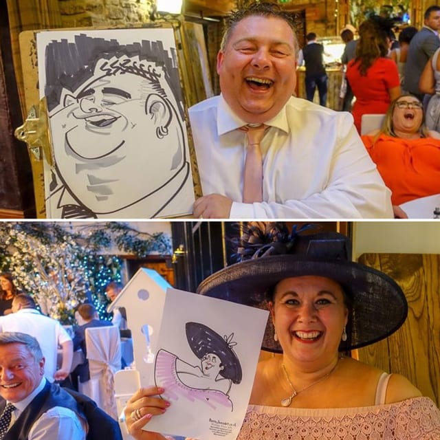 Caricaturist North East Barrie James
