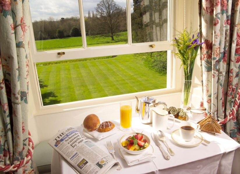 Breakfast at Middlethorpe Hall