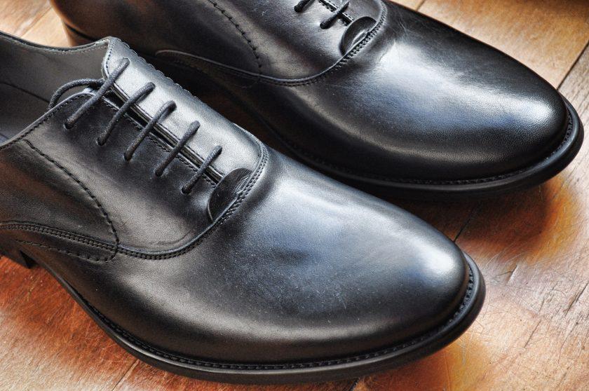 Suit Shoes Up Close