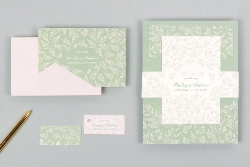 Rustic Wedding Invitations from Rosemood UK