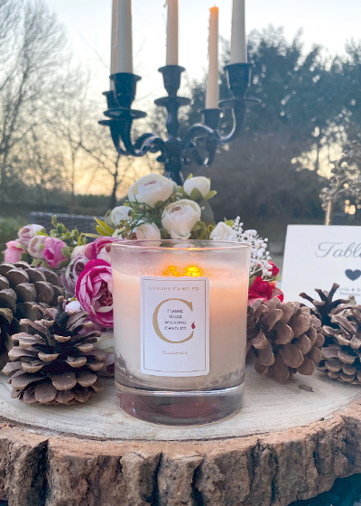 Flamme Rouge Candles