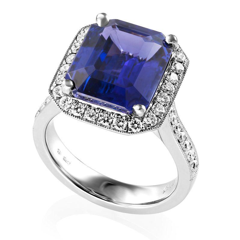 Tanzanite & Diamond Dress Ring, Riverstones Jewellers, £13,500