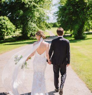 Jennifer and Liam's Joyful Sun-Soaked Romance at Rudding
