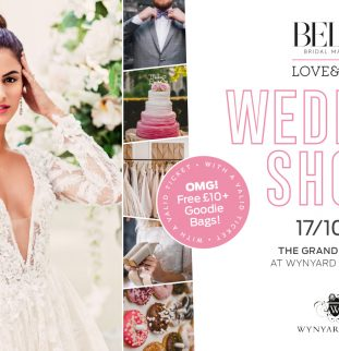 The Belle Bridal LOVE & LUXE Wedding Show at Wynyard Hall